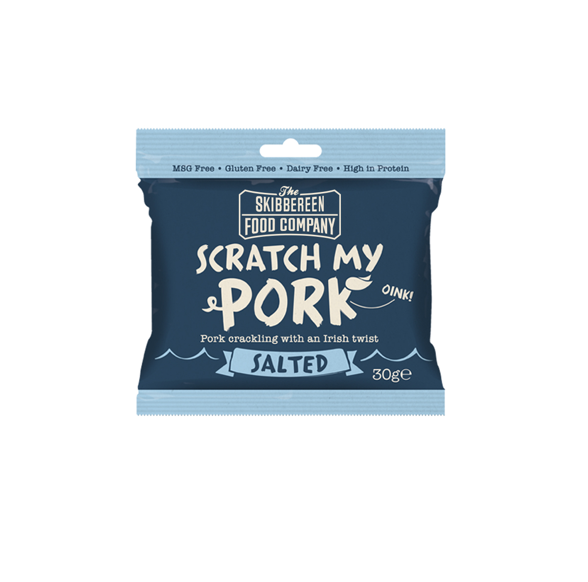 Salted Scratch My Pork pork crackling flavour