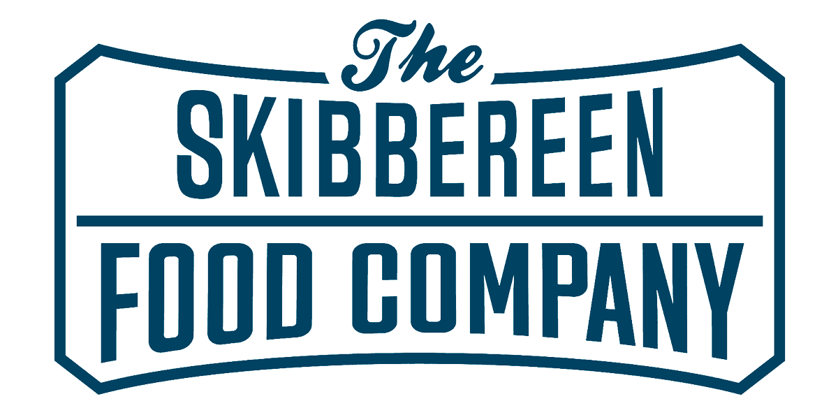The Skibbereen Food Company logo in blue