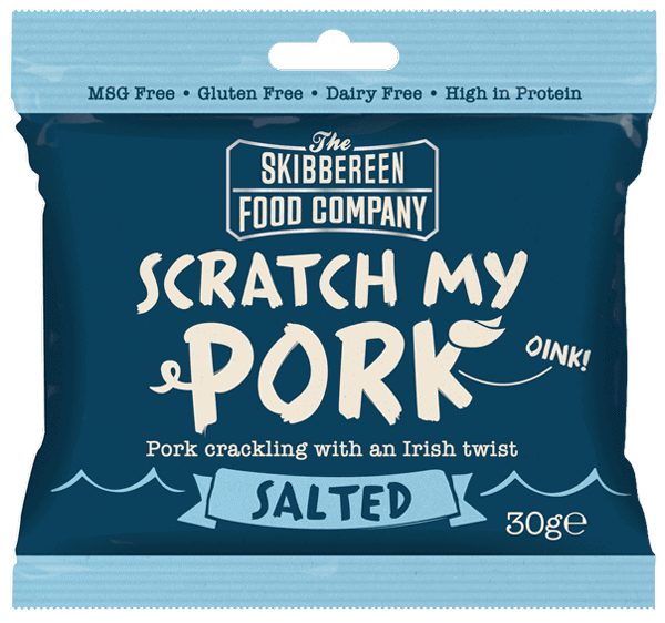 Scratch My Pork - Pork Crackling - Salted Flavour