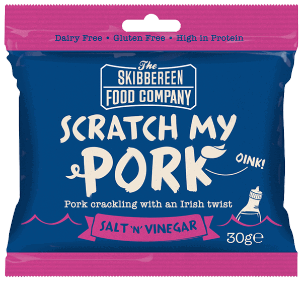 Scratch My Pork - Pork Crackling - Salt & Vinegar Flavour