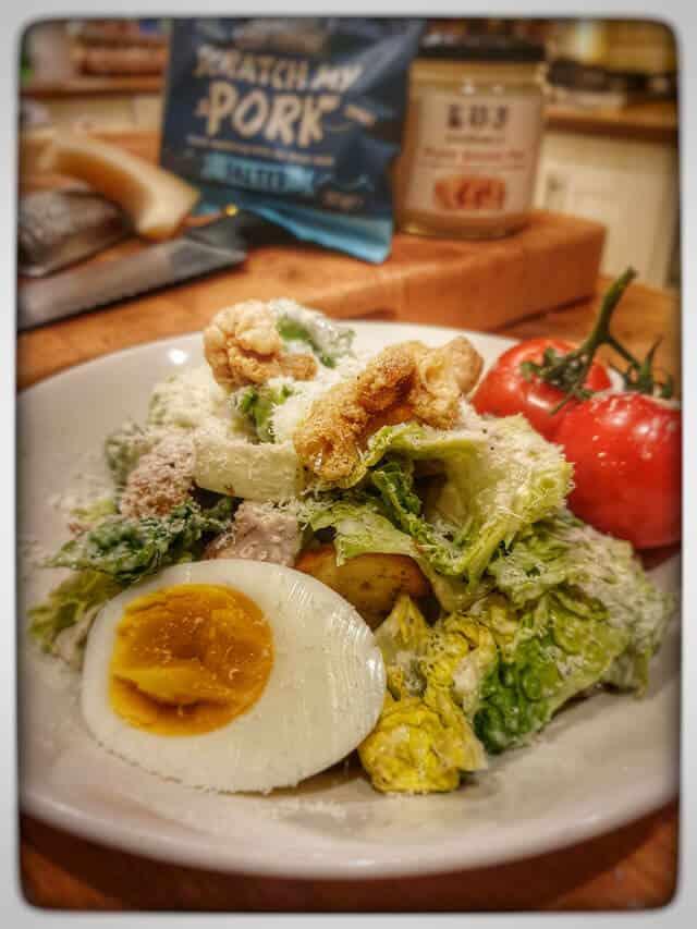 Gluten Free Chicken Caesar Salad